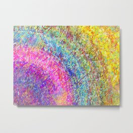 Kaleidoscopic Fantasy Metal Print