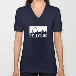 St. Louis Skyline Unisex V-Neck