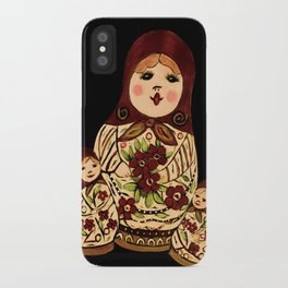 Russian dolls 2 / warmer colors  iPhone Case