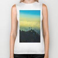 los angeles Biker Tanks featuring Los Angeles by Sbnumb3