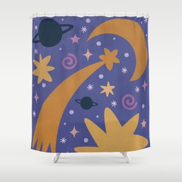 Magic of Universe Shower Curtain