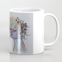 ASL Mother in Denim Coloring Coffee Mug