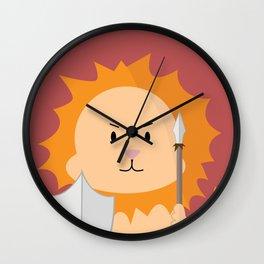 Lion - Fierce  Wall Clock