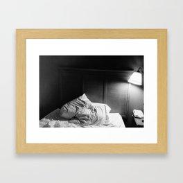 Restless Night Framed Art Print