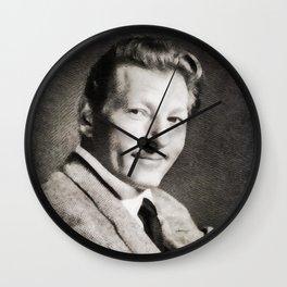 Danny Kaye, Hollywood Legend Wall Clock