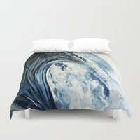 into the wild Duvet Covers featuring wild by Terrel