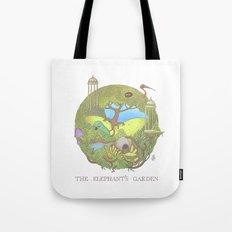 The Elephant's Garden - Version 1 Tote Bag