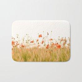 California Poppies Bath Mat