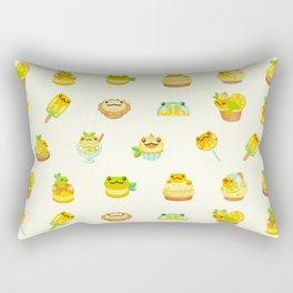 Sweet Lemon frog Rectangular Pillow