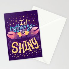 Shiny Stationery Cards
