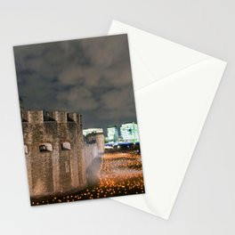 Tower of London Beyond The Deepening Shadow Stationery Cards
