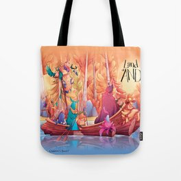 Land of AND - Boat Tote Bag