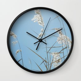 Swaying with the Tall Grass Wall Clock