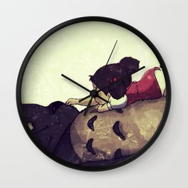 Friendship Never Ends Wall Clock