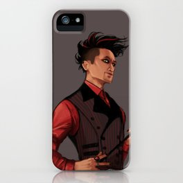DOWN iPhone Case