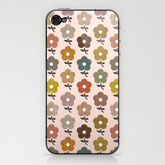 Happy little flower iPhone & iPod Skin