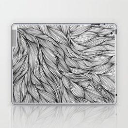 Pin in a Hairstack Laptop & iPad Skin