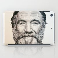 robin williams iPad Cases featuring Robin Williams by feralsister