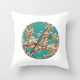 spring tree XVII Throw Pillow