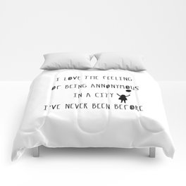 Annonymous Comforters