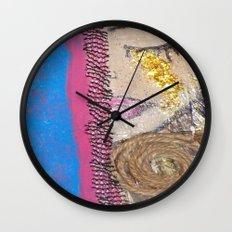 Tears of Gold Wall Clock