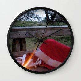 An Aussie Christmas (part2) Wall Clock