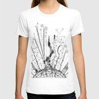 woods T-shirts featuring Woods by Andrew Mark Pickin