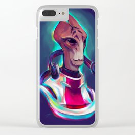 Neon Mordin... Had to be him Clear iPhone Case