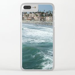 The Pier Above Clear iPhone Case