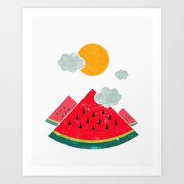 eatventure time! Art Print