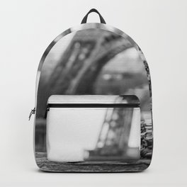 Love Birds (Black and White) Backpack