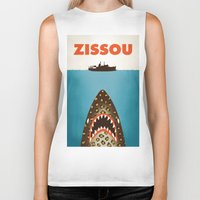 murray Biker Tanks featuring Zissou by Wharton