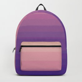 Evening Ombre Stripe Backpack