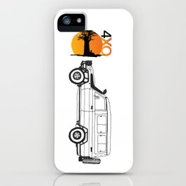 Land Cruiser Troopy iPhone Case