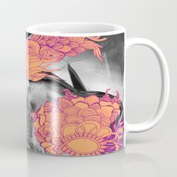 geode Mugs featuring Geode 6 by michiko_design