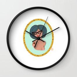 Valentine Pinup 3 Wall Clock