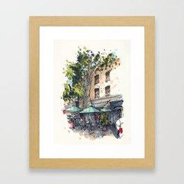 Chez Janine et Roger Framed Art Print
