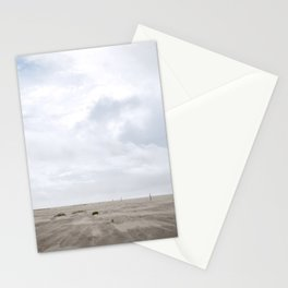 Grayland Beach on a Cloudy Day Stationery Cards