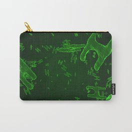Abstract green virus cells Carry-All Pouch