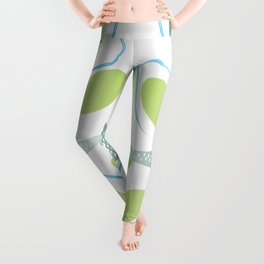 Meshes and Bubbles by FreddiJr Leggings