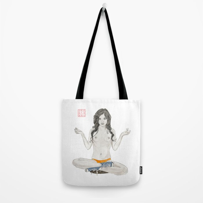 Converse Buddha Tote Bag