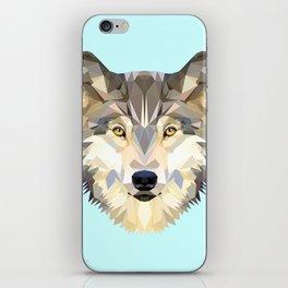WOLF J iPhone Skin