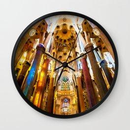Sagrada Familia Art Work Wall Clock