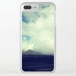 Saddle Road Clear iPhone Case