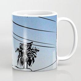 over smal trown the sunset Coffee Mug