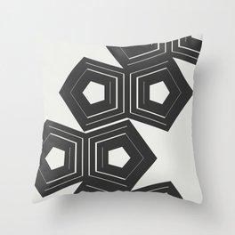 Abstract Pattern Polygon #society6 #decor #buyart Throw Pillow
