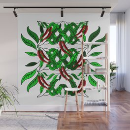 Hot Chili Peppers Wall Mural