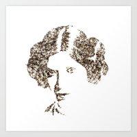 Spices Leia - Black Pepper Art Print