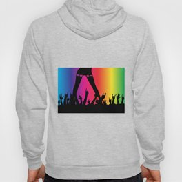 Entertainer With Audience Hoody