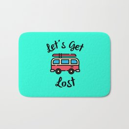 Let's Get Lost Bath Mat
